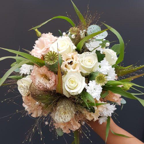 Brautstrauß Weiß Rose